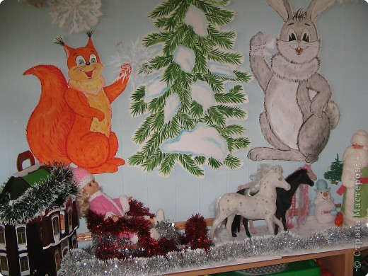Украшение для группы детского сада своими руками к новому году